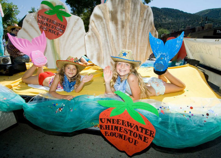 the parade: Glenwood Springs Strawberry Days photos (Source https://www.facebook.com/strawberrydaysfestival)